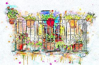 Konkurs na najładniejszy balkon, ogródek przydomowy i najładniej zagospodarowanie otoczenie budynku