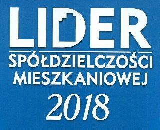 Lider Spółdzielczości Mieszkaniowej 2018
